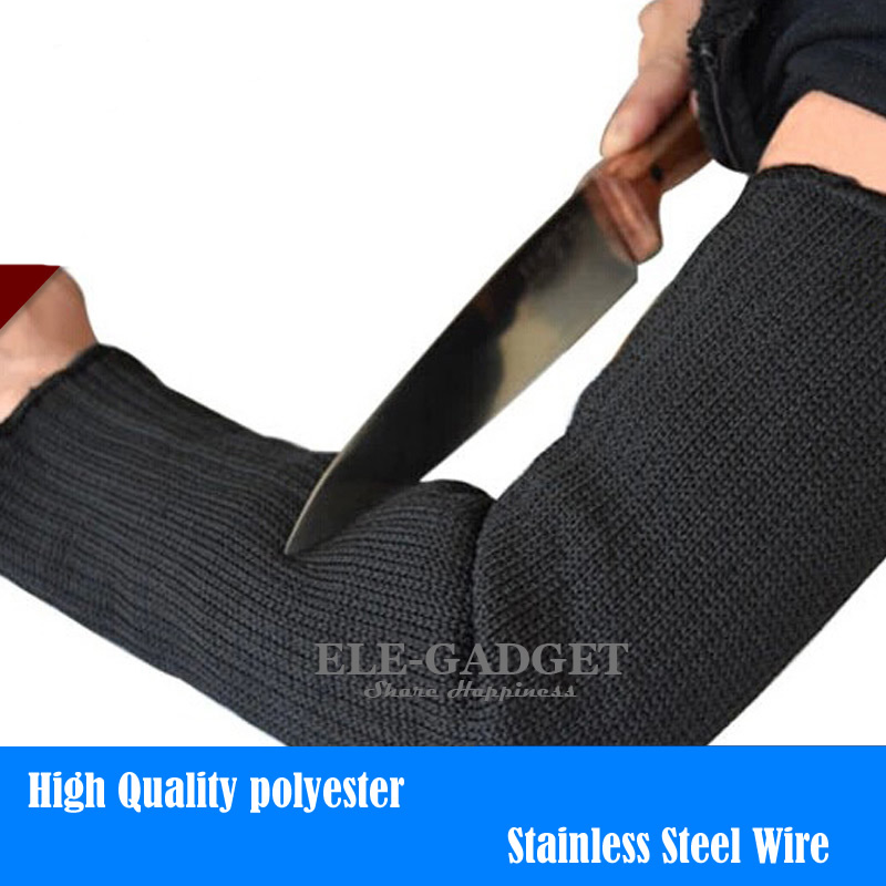 New 1 Pair Cut-Resistant Arm Sleeves Protector Anti-Cutting Armband For Working Safety Worker Gardener Outdoor Drop Shipping