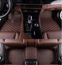 AA Personalizado Alfombras Tapetes Especial Para Toyota Highlander 7 asientos Impermeables Para Highlander 7 Modelo Asientos Estera Del Pie