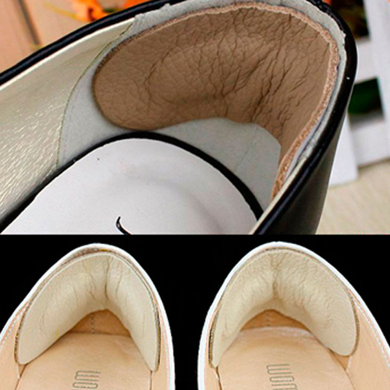 1 Pair Foot Care Shoes Pads Cow Leather Insole Liner High Heel Cushion LBY2018