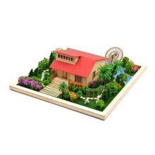 DIY Модель летнего домика дом для сборки вилламакинг Резорт дача