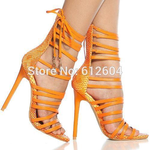 Online Get Cheap Orange Strappy Sandals -Aliexpress.com  Alibaba