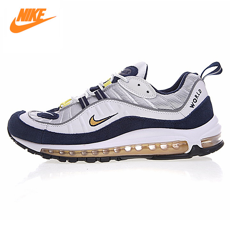 Nike Air Max 98 Retro Full Palm Cushion Men Running Shoes,Original Male Outdoor Sport Shoes,640744