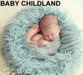 100*50 cm Cobertor do bebê da Pele Do Falso Cesta Stuffer Fotografia Props Newborn Fotografia Props bebê recém-nascido cestas De Pele Da Mongólia