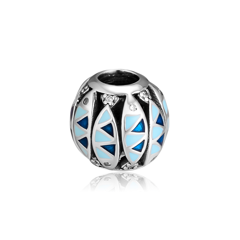 Beads fits for Pandora Bracelets 100 925 Sterling Silver Jewelry Oceanic fish Charm Free Shipping in Beads from Jewelry Accessories