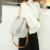 New Coreano Da Forma Das Mulheres Borlas Talão de couro Macio Lichia Couro PU Composit Sacos de Cordão Borla Balde Saco De Luxo Do Vintage Para Mulheres
