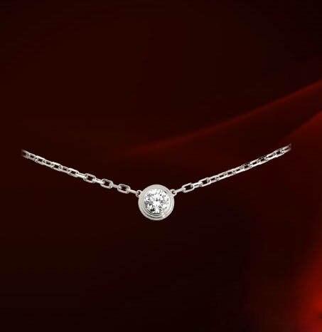 New Sale Dans Element Necklace for women Genuine Austria Crystal Fashion Pendants Fi-RG860552White