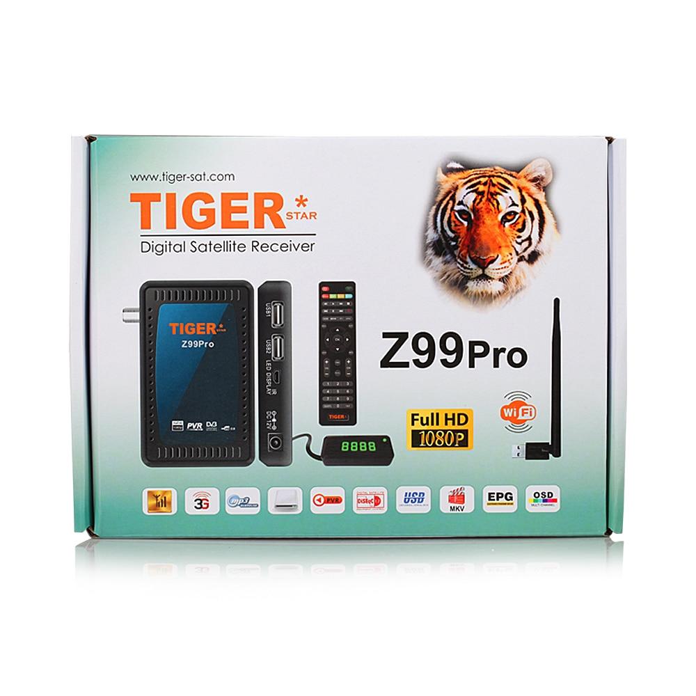 Tiger Satellite Receiver Z99 Pro Mini DVB S2 Iptv Box Tiger Full HD