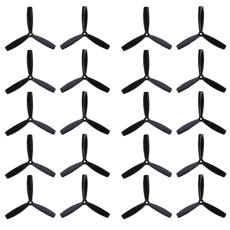 Hot Sell 10 Pairs 6045 3 Blade CW Flat Propeller CCW Prop For RC Multicopter Quadcopter Toy Accessories hot sell 10 pairs 6045 3 blade cw flat propeller ccw prop for rc multicopter quadcopter toy accessories