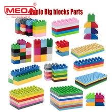 Big Bricks Duplo Building blocks Parts ABS Material Enlighten Creative bricks Decool Legoo Compatible minecraft DIY