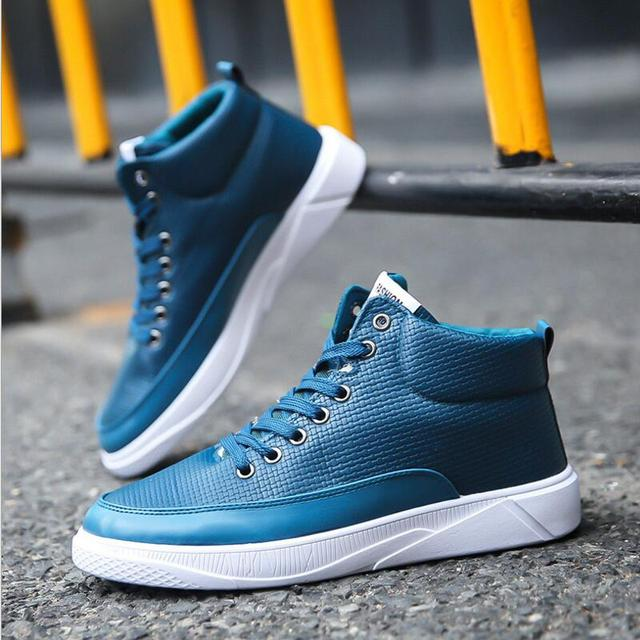 065eeab56e3 AIKE Asia high-profile leather strap student casual shoes Waterproof  handsome male-fashion mens shoes strap Men s leather shoes