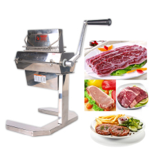Meat Tenderizer Machine Commercial Manual Meat Tenderizer 7 Wide Knives Food Processing Machine Steak Meat Poultry Tool