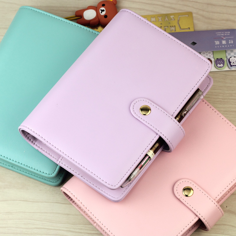 2018 Miss Series School Notebook A5 A6 Spiral Time Personal Planner Cute Creative Hasp Organizer Diary Agenda gifts Stationery never sweet pink diary a6 spiral notebook agenda 2018 personal weekly planner chancellory school supplies korean gift stationery