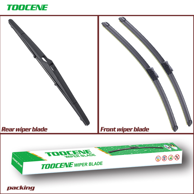 Front And Rear Windshield Wiper Blade For Ford Focus 3 Estate 2010 2016 Auto Car Accessories 28 12j