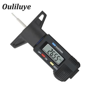 Medidor de profundidad de la banda de rodadura del neumático medidor de espesor de la herramienta medidor de profundidad de la banda de rodadura medidor de herramienta