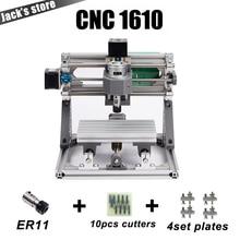 CNC 1610 с ER11, гравировальный станок с ЧПУ, Мини печатной платы Фрезерные станки, дерево Вырезка машины, ЧПУ, cnc1610, самые передовые игрушки