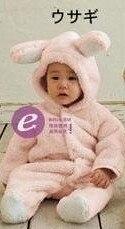 1 комплект, классический детский комбинезон с накидкой для зимы, комбинезон с длинными рукавами, детская одежда, комбинезон для малышей, одежда с рисунком медведя, кролика, поросенка, 3 цвета - Цвет: pink piggy