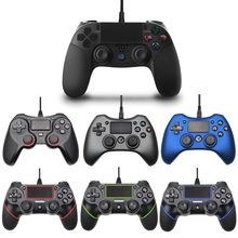 USB Wired Gamepad for Playstation 4 Joystick Gamepads Double Shock Joypad for PC For PS4 Controller 2.2M Cable For PS3 Console