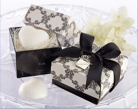 200 pcs AMOUR Coeur Savon Dans La boîte De Mariage Baby Shower de Faveur pour les Cadeaux De Mariage Party Favors Saint Valentine cadeau