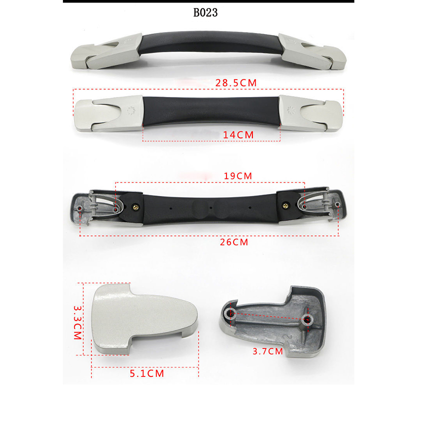 B014-B030 Replacement Suitcase Luggage Handle Grip Spare Fix Holders Box Pull Carry Strap Luggage Repair Accessories