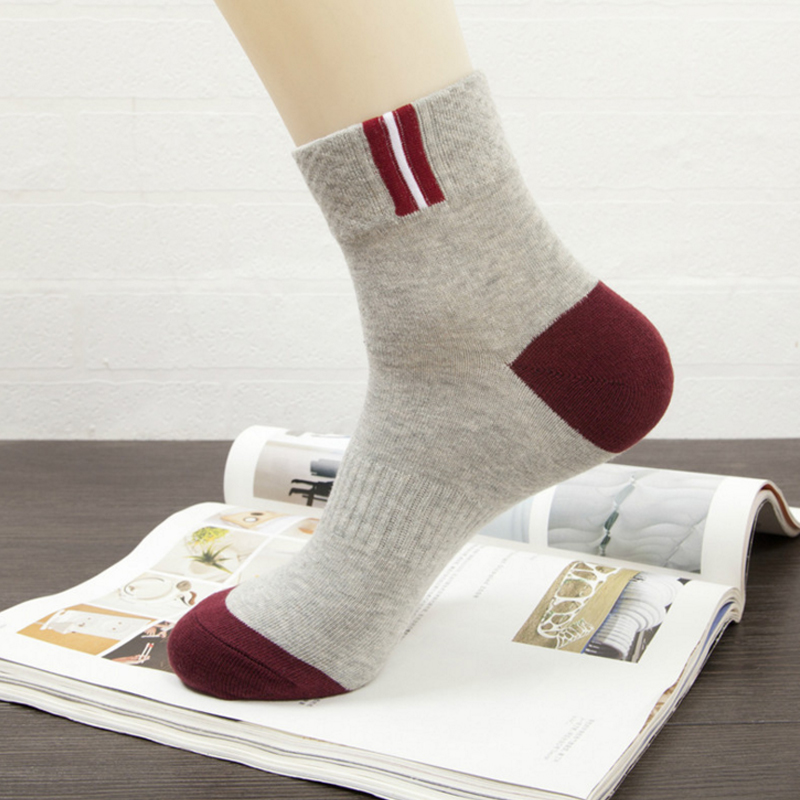 5pairs Mens Woman Fashion Cotton Business Dress Sock Male Shallow Mouth Absorb Sweat Short sokken winter sox wholesale