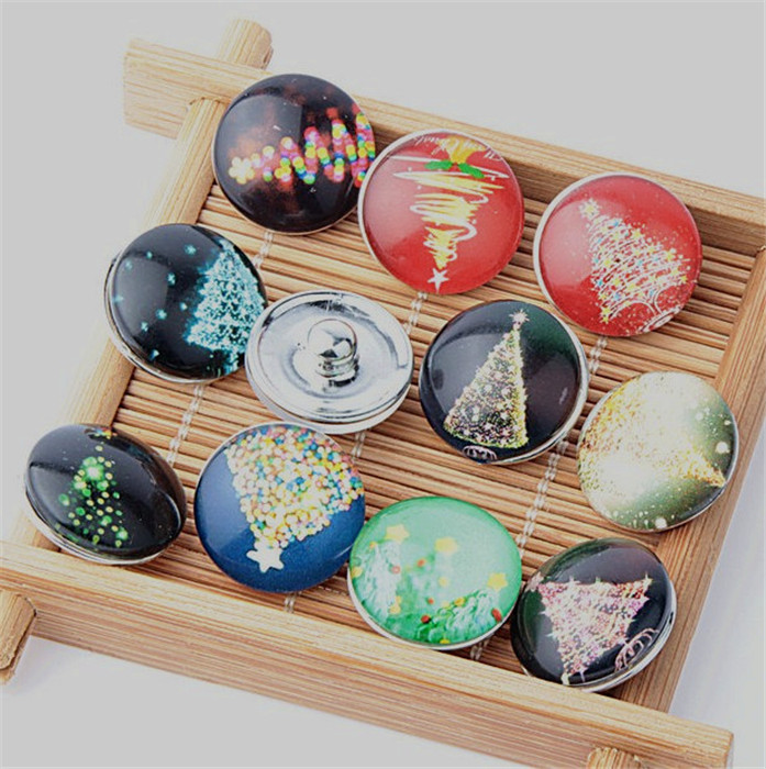 Careful 60pcs/lot Mix Colors Wholesale Glass Fireworks 18mm Diy Snap Buttons For Diy Girls Jewelry Good Heat Preservation