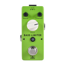 Aroma ABL-5 Mini Aluminum Alloy Body Bass Limiter Electric Bass Guitar Effect Pedal True Bypass