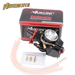 Image 1 - PowerMotor 21 24 26 28 30 32 34mm Universal Black Mikuni Maikuni PWK Carburetor Parts Scooters With Power Jet Motorcycle ATV