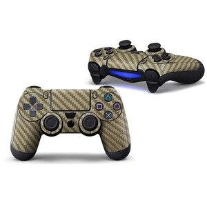 Image 4 - Pour Sony Gamepad autocollants PS4 télécommande décalcomanie peau autocollant coque Protection autocollants Personalit décalcomanie accessoires de jeu