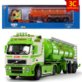 KAIDIWEI Engineering Vehicle 1:50 Scale Tanker Diecast Alloy Metal  Car Model Collect Kids Toy
