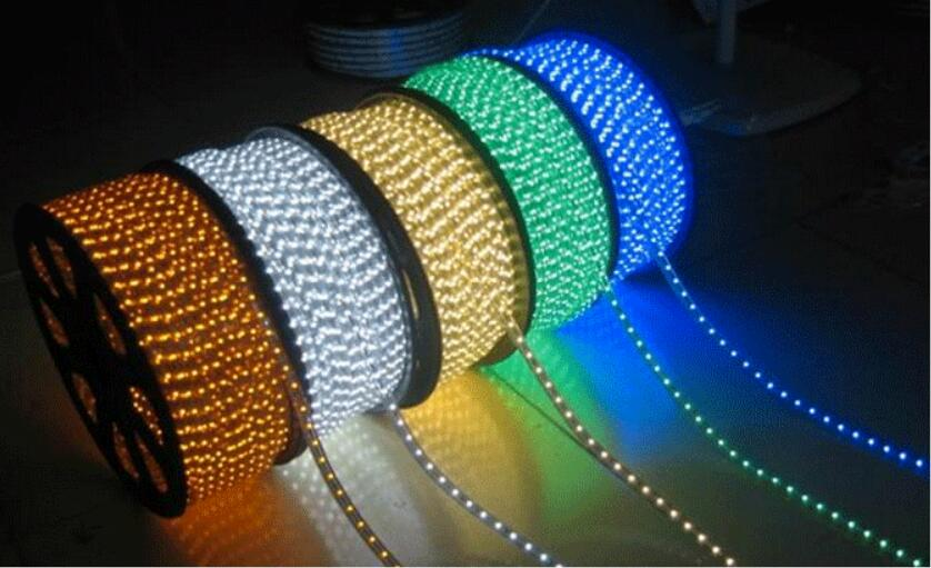 AC220V SMD 5050 led strip flexible light 1M/2M/3M/4M/5M/10M+EU Power Plug,60leds/m Waterproof led tape ribbon Home Decoration