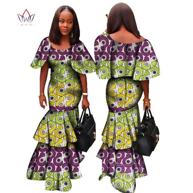 2017 fashion africa dresses for women dashiki sxey elegant