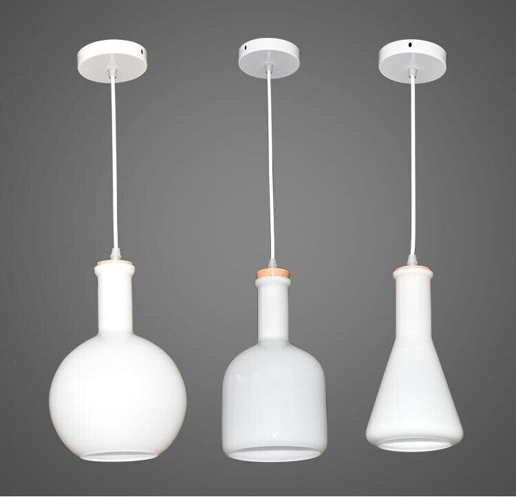 Nordico Design Bedroom Pendant Lamp Art Gass Bottle Luminaire Home Decor Modern Light Fixtures For Restaurants 110-240V Lighting casio ltp 1308sg 7a