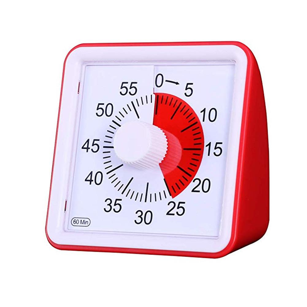 60 Minute Visual Timer Silent Time Management Tool For Classroom Conference Countdown For Children And Adults Table Clock(China)