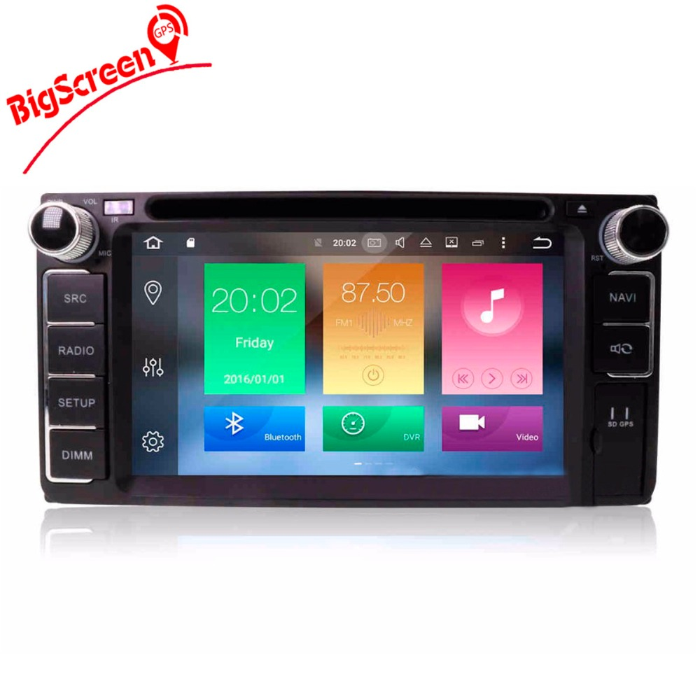 Flash Deal Android8.0 7.1 System Octa 8 Core Car DVD Player GPS Navigation For Most of Toyota Car Headunit Multimedia Autoradio Monitor 1