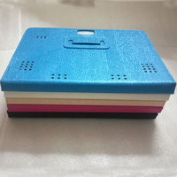 Myslc PU deri kılıf için OVERMAX Qualcore 1027 3G 4G 10.1 inç Tablet Folio Standı Kılıf