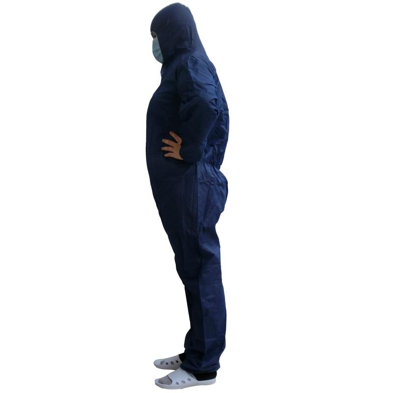 Одноразовый защитный комбинезон - Безопасность и защита - Фотография 2