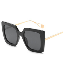 Retro Sunglasses for Women Sun Glasses Big Square Luxury Vintage Designer Female Eyewear UV400