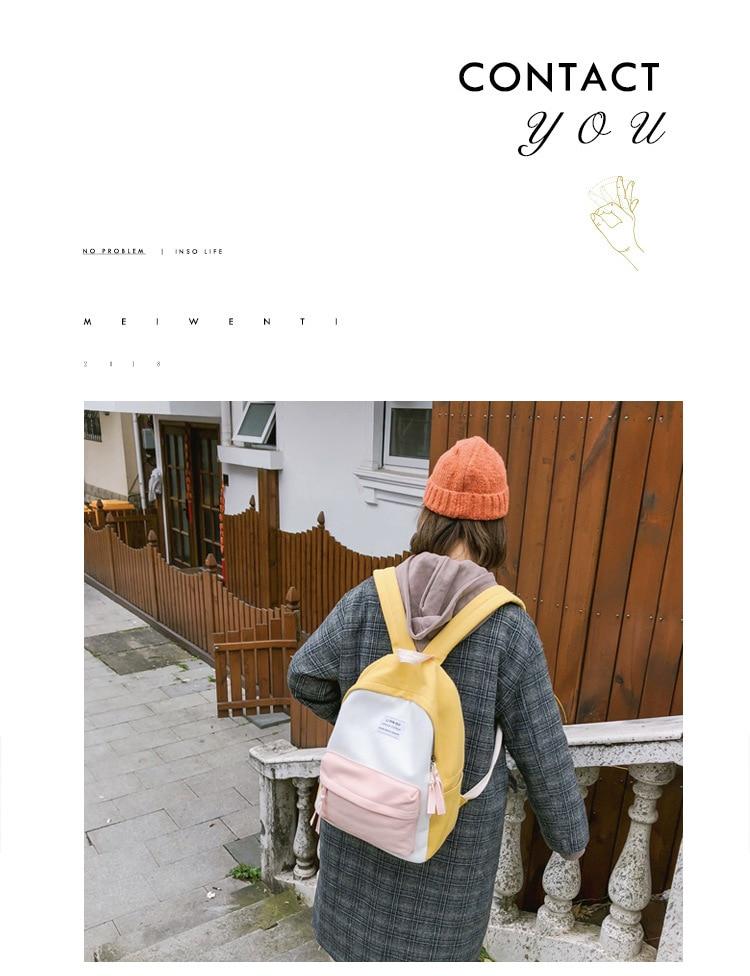 2019 New Fashion Women Backpack Leisure Shoulder School Bag For Teenage Girl Bagpack Rucksack Knapsack Backpack For Women