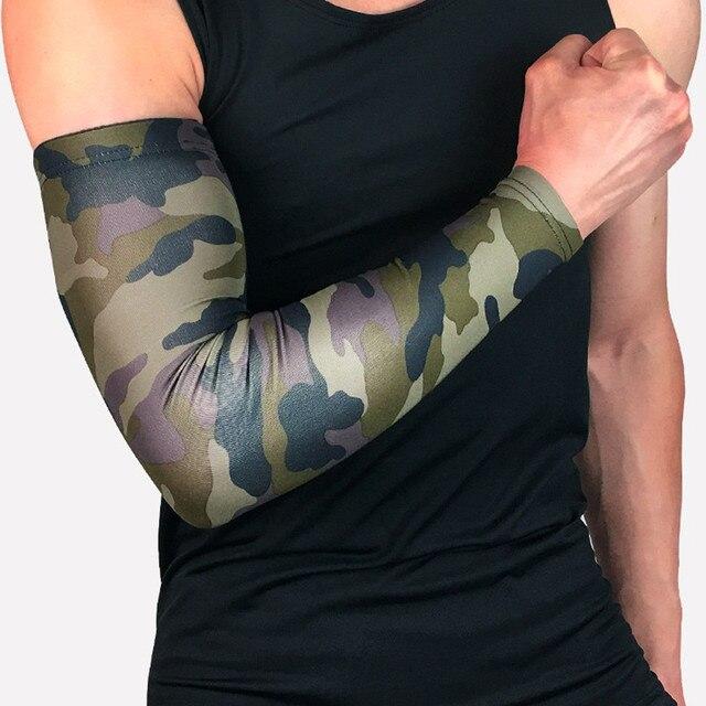 מזויף קעקוע שרוול 1 PC זרוע שרוולים לנשימה אנטי להחליק חפתים UV הגנת דחיסה שמש שרוולים מנגה tatuaje זרוע מחממי #5