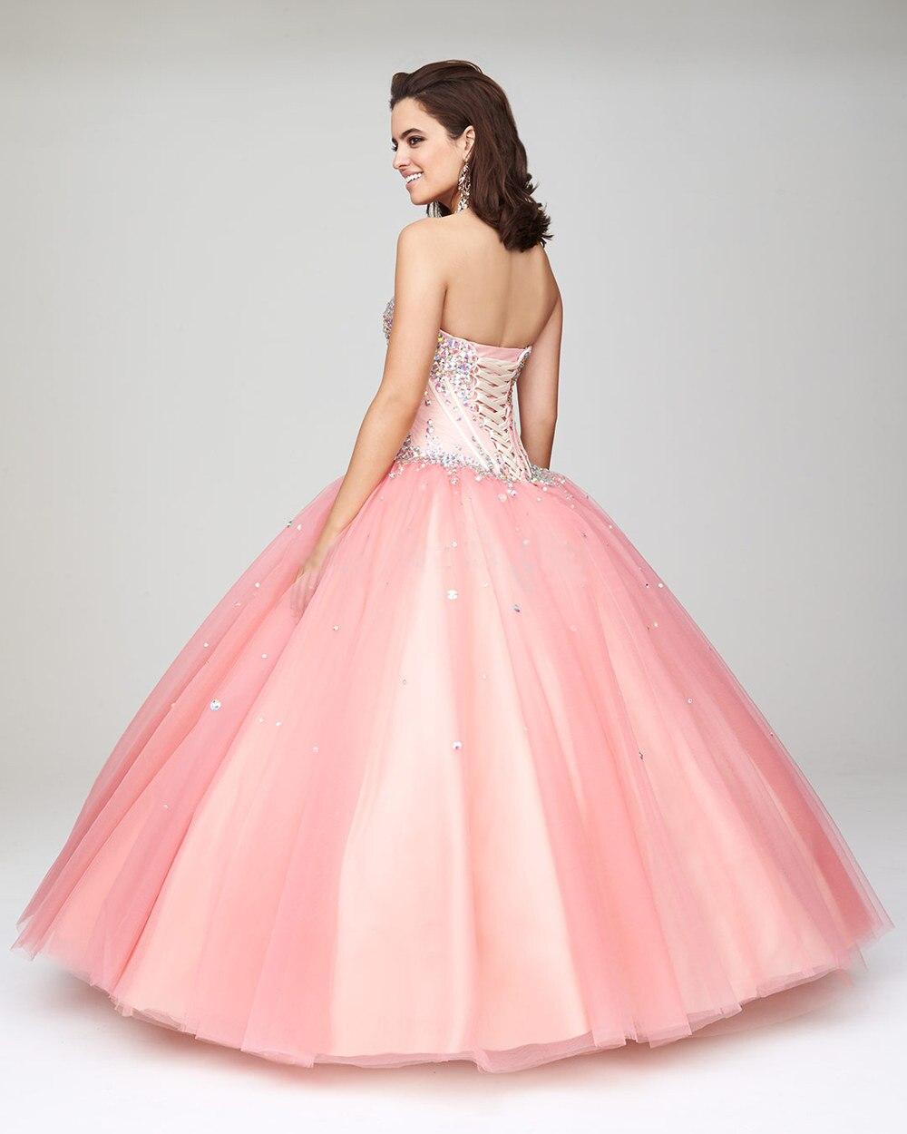 Cute Pink vestidos quinceañera vestidos de bola barato vestidos de ...