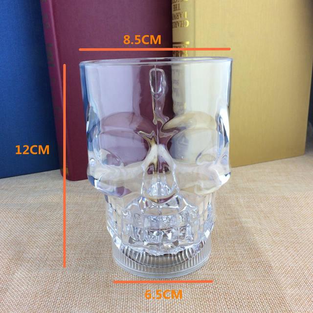 FLASHING SKULL HEAD CUP