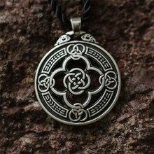 10pcs wholesale celt Knot Warrior Quatrefoil Shield necklace Pendant Protection Renaissance Jewelry