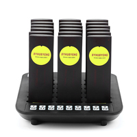 BYHUBYENG Wireless Queuing Pager System 18 pcs Pager Factory Outlet Distance 3000m Restaurant Pager System Call Waiter System