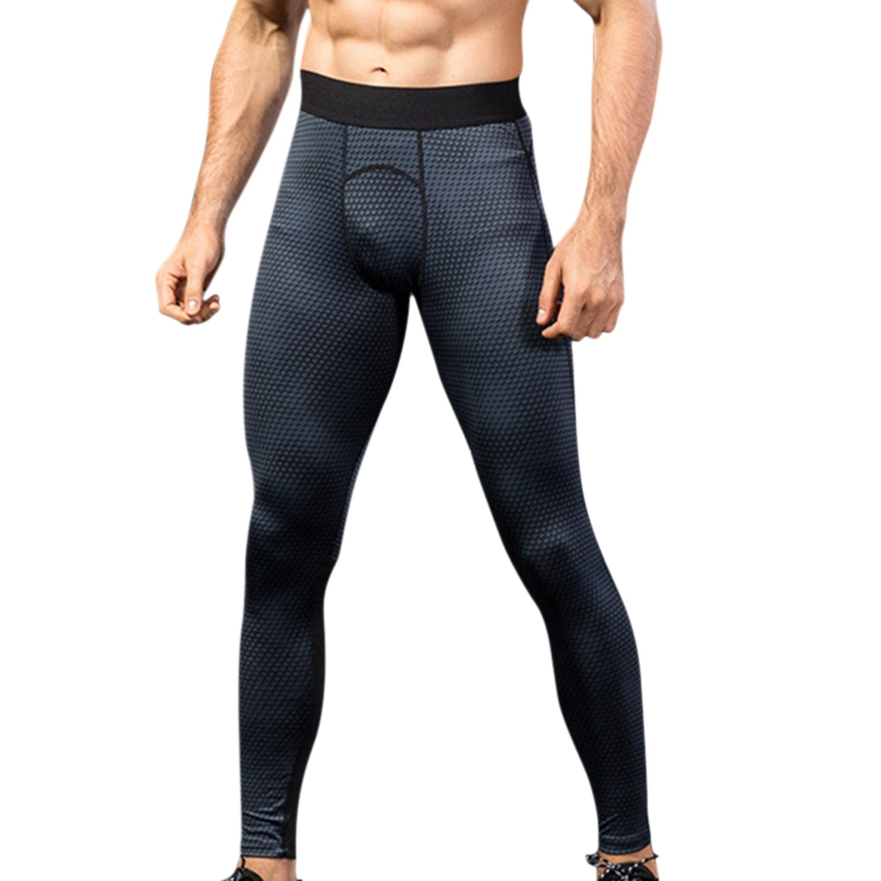 New Men Winter Running Tight Compression Pants Fitness Sport Leggings Gym Pants Men Jogging Trousers Pants Cycling Sportswears