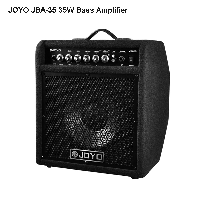 JOYO JBA 35 Bass Amplifier 35W output power RMS professional Combo Electric Bass AMP Amplifiers Soundness