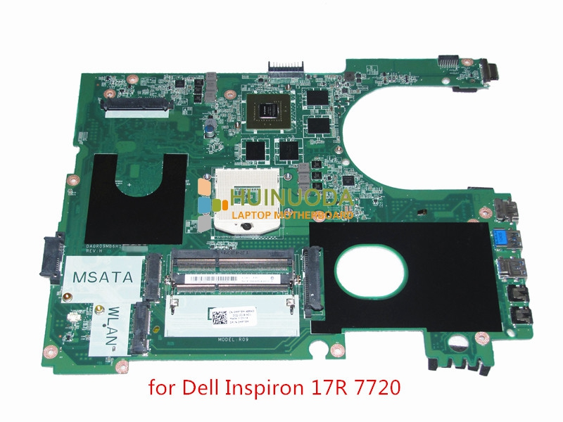 FOR Dell Inspiron 17R 7720 Intel LAPTOP Motherboard MPT5M 0MPT5M DA0R09MB6H1 With Graphics Chip Tested