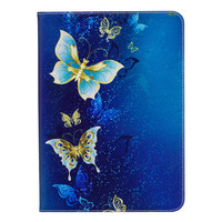 New Fashion Butterfly Panda Owl Patterns Flip Magnetic Cover PU Leather Stand Case For Samsung Galaxy