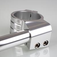 1pair Universal Aluminium Alloy Motorbike CNC Fork Tube Adjustable Clip On Handlebars 31/32/33/35mm NR shipping