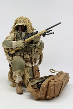 1/6 Sniper's Ghillie Clothes Suit VH1009 For 12in Action Figure