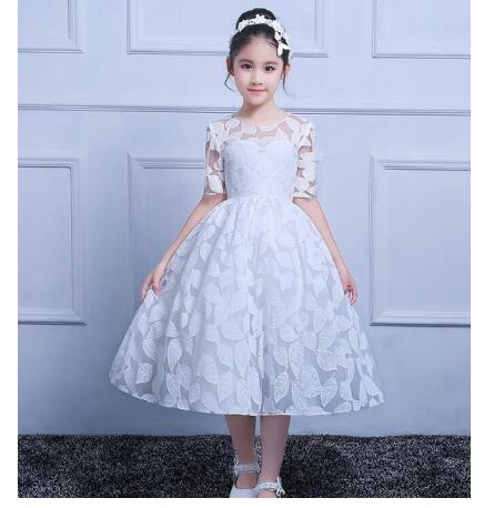 Actual Image White Flower Girl Dresses Lace Applique Half Sleeve Pageant Gowns Any Size Any Color raptor r5bt2nsn battery terminals platinum battery terminals negative